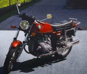 Mein erstes Motorrad eine R45 von BMW My first Motorbike a R45 from BMW