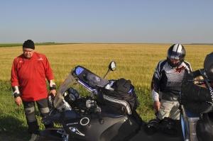 Trafen ein paar russische Biker Met some Russian bikers