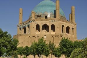 Oljeitu Mausoleum erb. um 1315