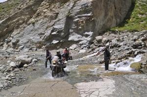 Noch mehr Wasser am Rhotang La