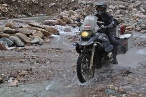 Noch mehr schlechte Straße am Rhotang La