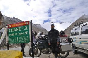 Chang La, auch über 5000 Meter