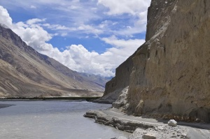 Eingang in Nubra Valley