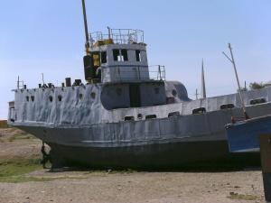 Erinnerung an den Aralsee.