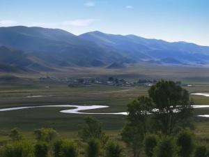 Der Südosten Kasachstans.