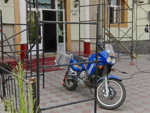 Hans ist inzwischen in Tashkent angekommen und ein Hotel gefunden.