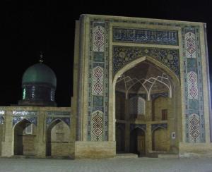 Moschee und Koranschule.