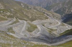 Pamir Highway.